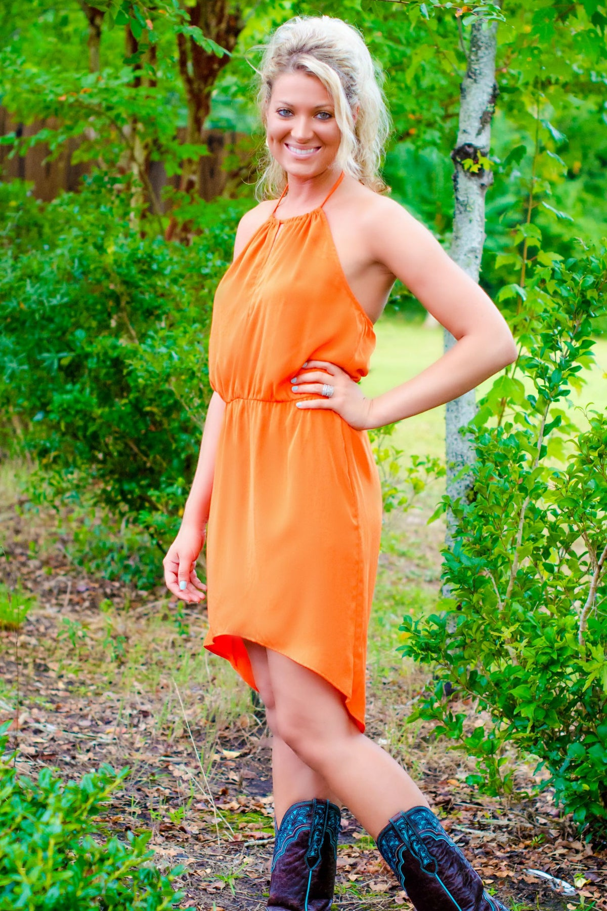 Glam: Game Day Dress, Orange
