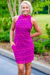Sweet Pea: Lynn Dress, Pink/Purple