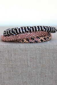 Lily and Laura: Bracelet Set, Nude
