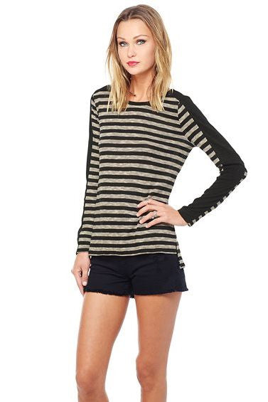 Jack by BB Dakota: Fitz Top, Black