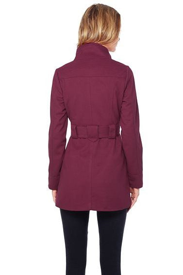 Jack by BB Dakota: Salinger Coat, Burgundy