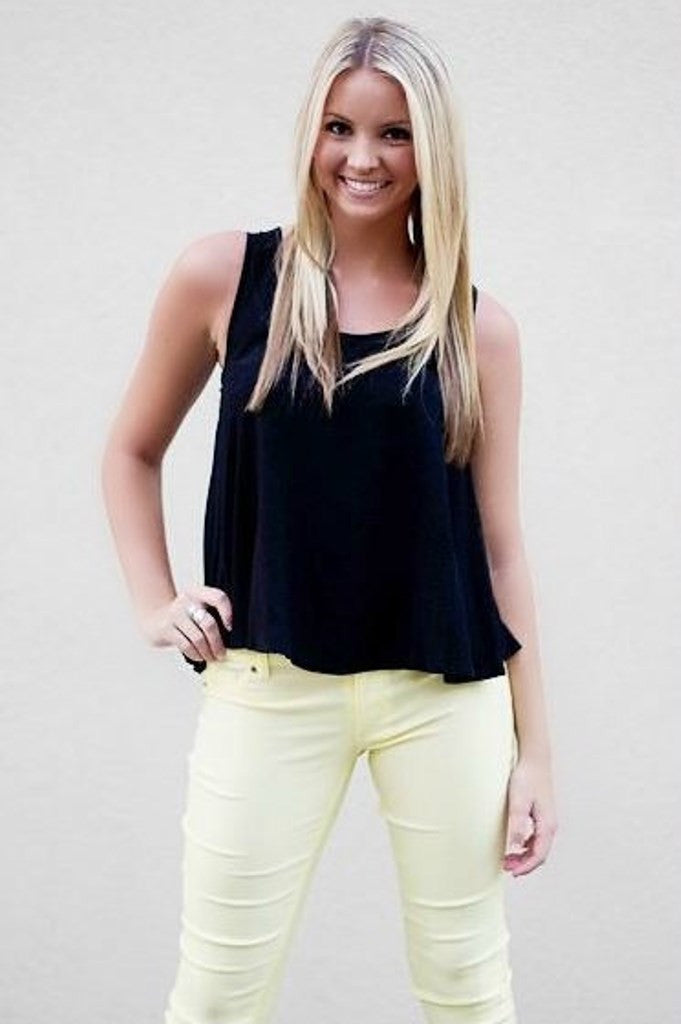 Candace Top, Black