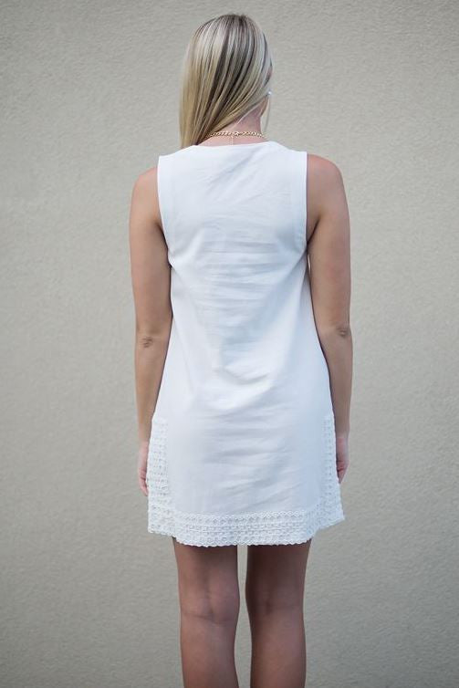Celene Dress, White