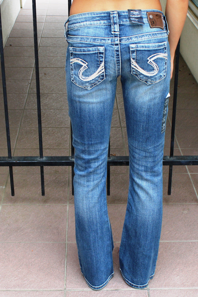 Silver Jeans: Tuesday Jeans, Blue