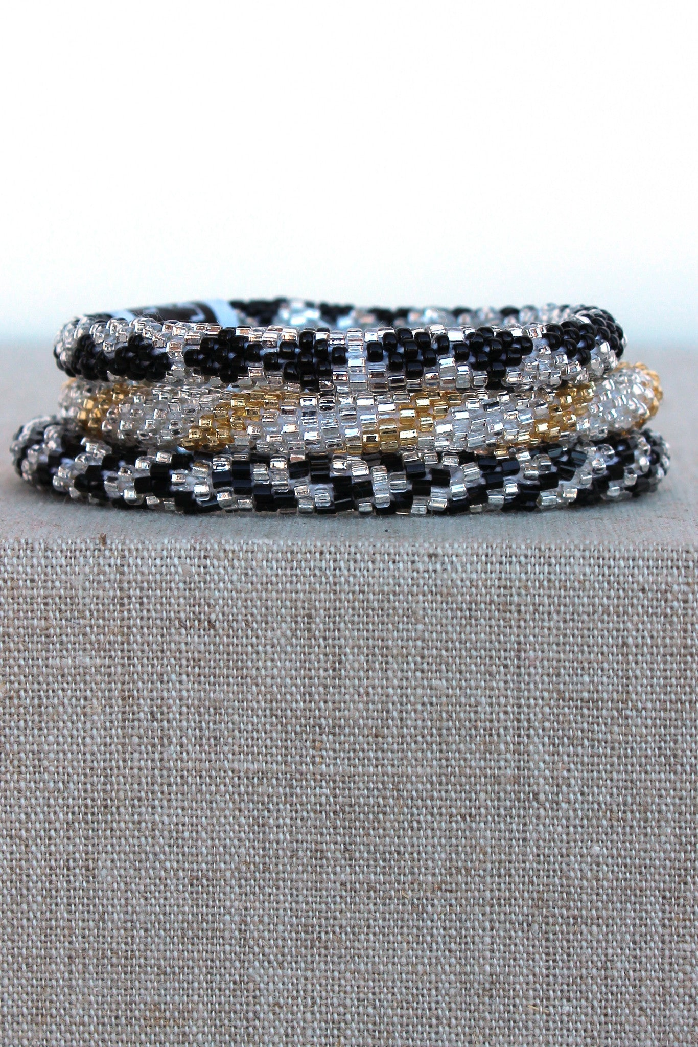 Lily and Laura: Bracelet Set, Black