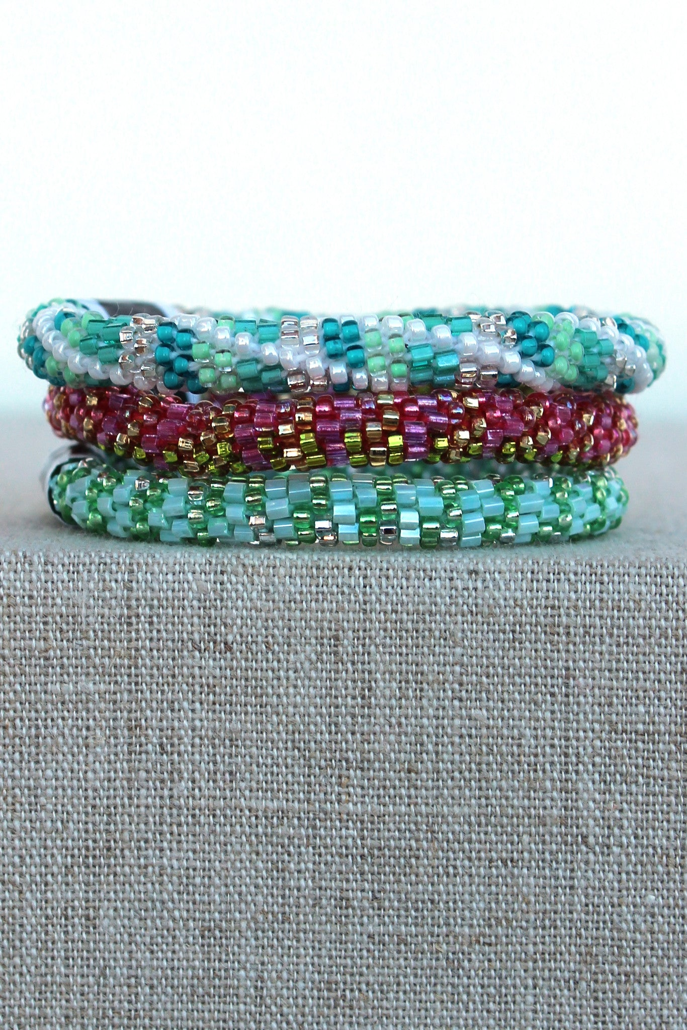 Lily and Laura: Bracelet Set, Mint