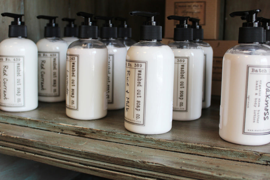 Washed Out Soap Co: Shea Butter Lotion