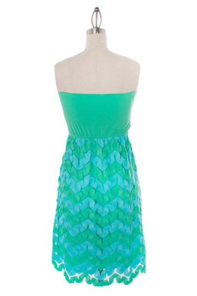 Judith March: Sophia Dress, Mint