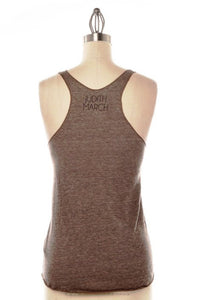 Judith March: Deer Antlers Tank, Brown