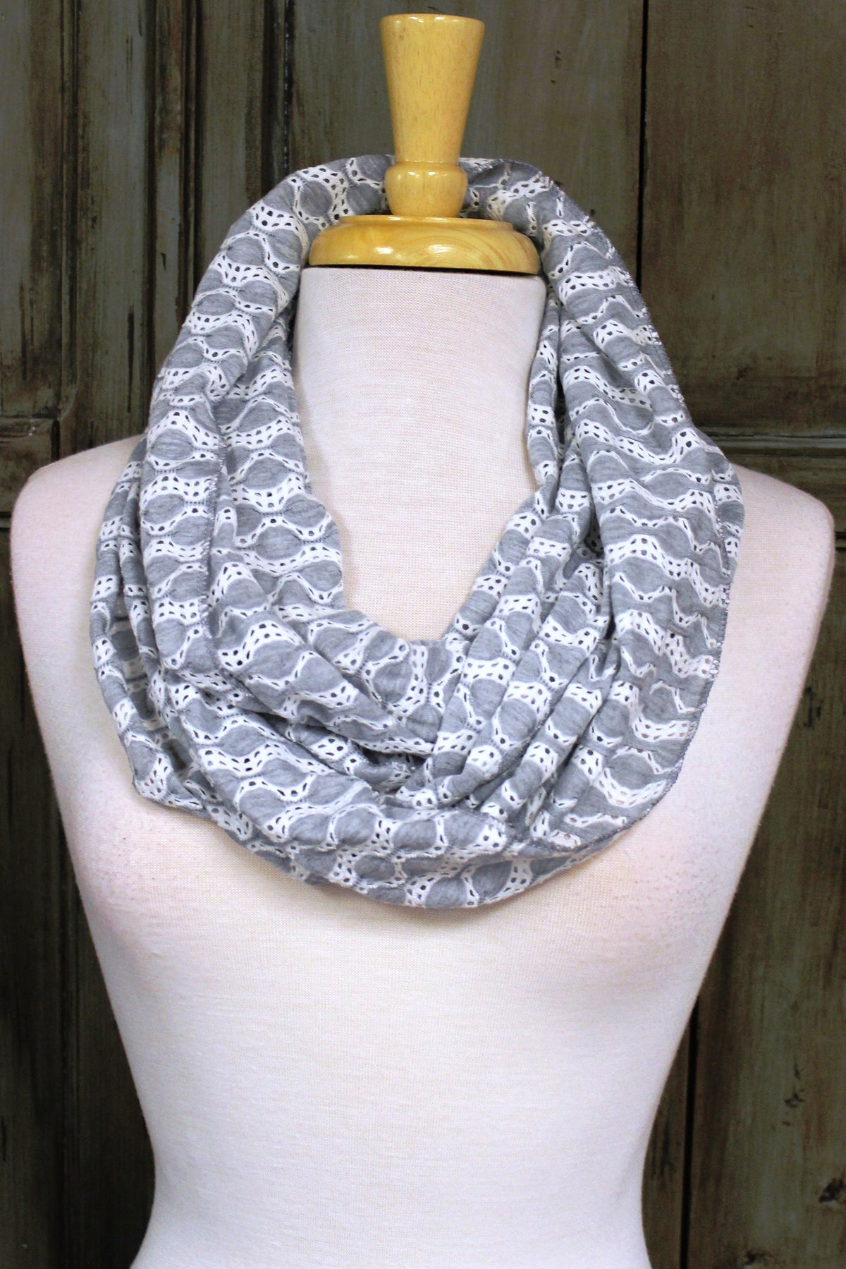 Infinity Scarf, Gray