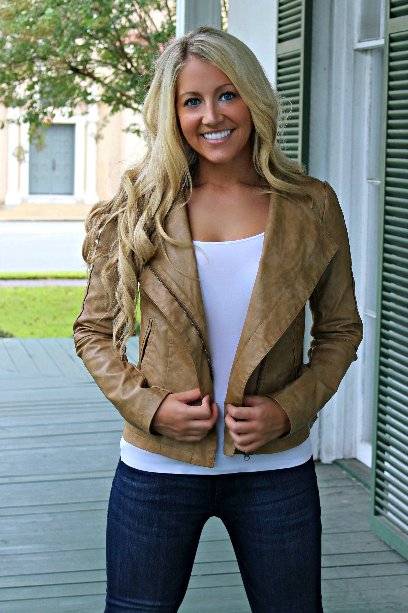 Carrie Jacket, Camel
