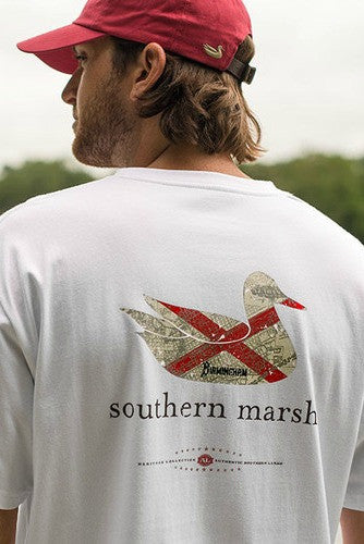 Southern Marsh: Heritage Collection Alabama, White