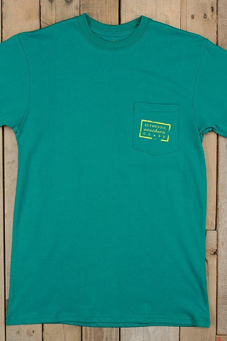 Southern Marsh: Authentic Tee, Teal