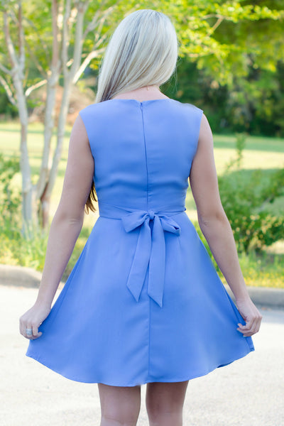 Darling: Keeley Dress, Blue