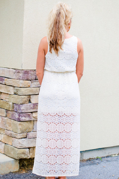 Everly: Eleanor Maxi, Ivory