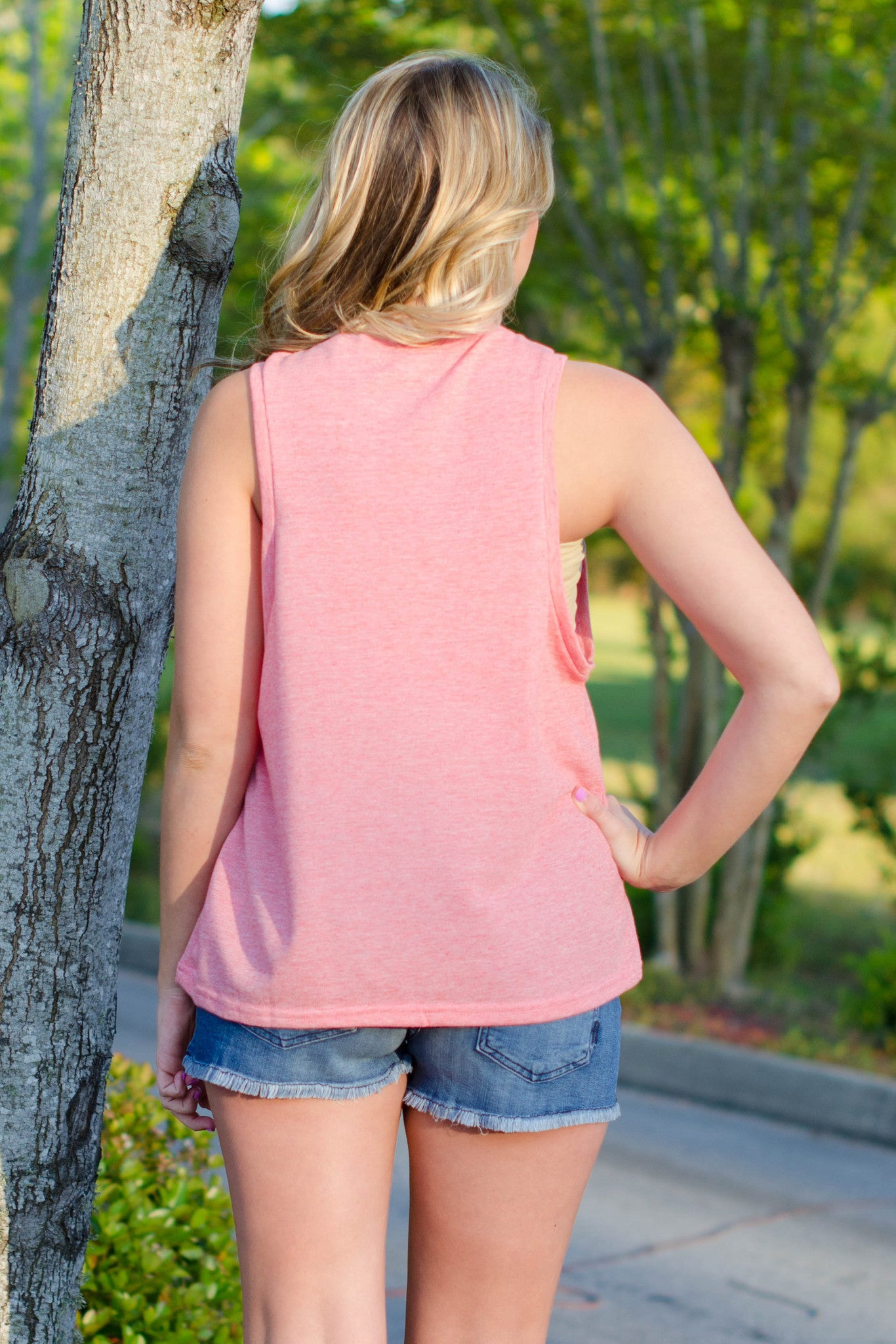 Beverly Top, Coral
