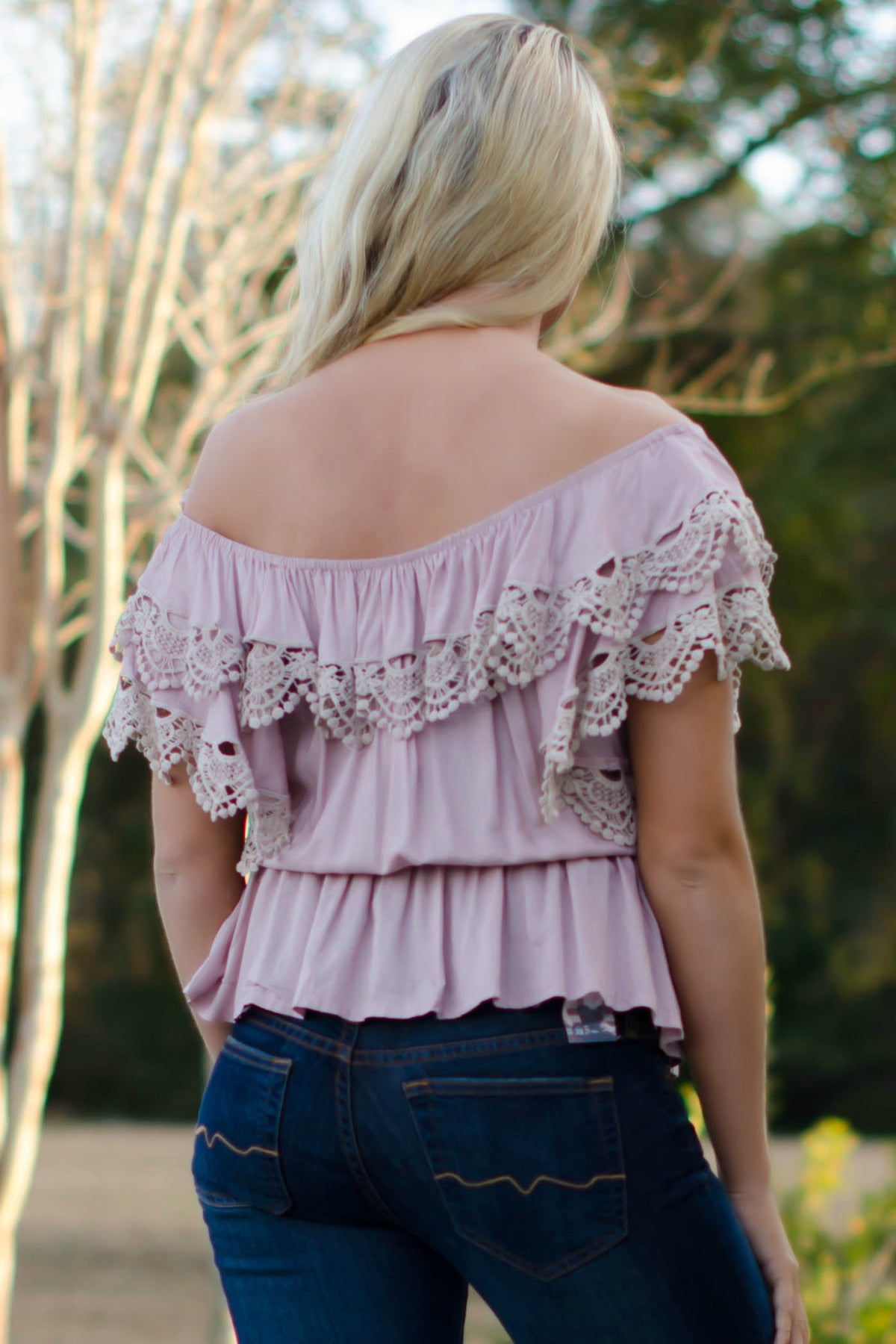 Lindsey Top, Pink