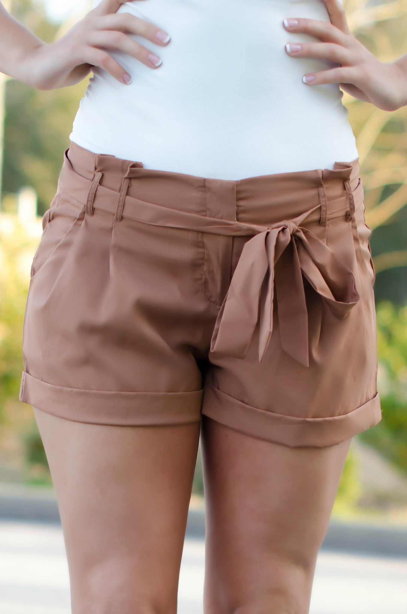 Darcy Shorts, Brown
