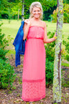 Jacie Maxi Dress, Coral