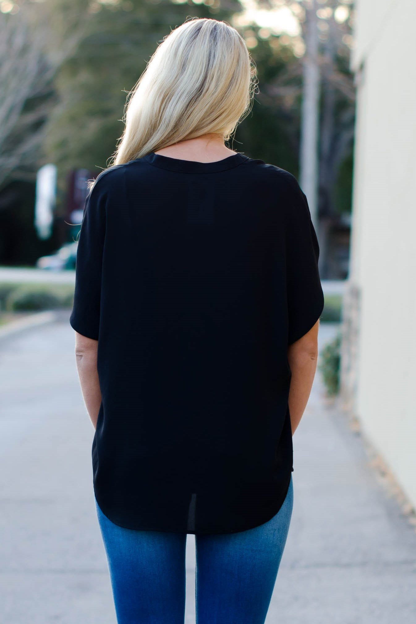 Glam: Alexandra Blouse, Black