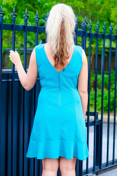 Missy Robertson: Allyson Dress, Turquoise