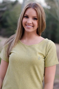 Darby Top, Yellow