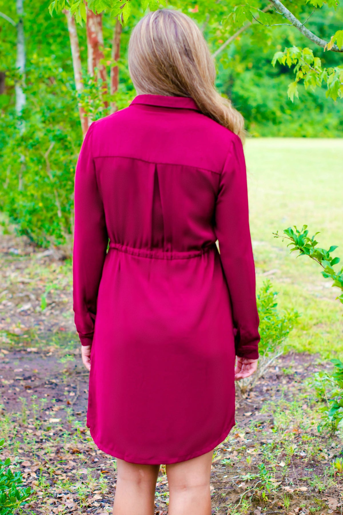 C. Luce: Haley Dress, Burgundy