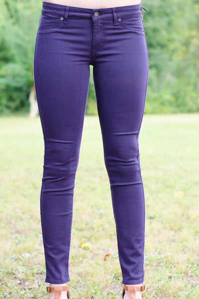 Rich and Skinny: Legacy Jeans, Purple