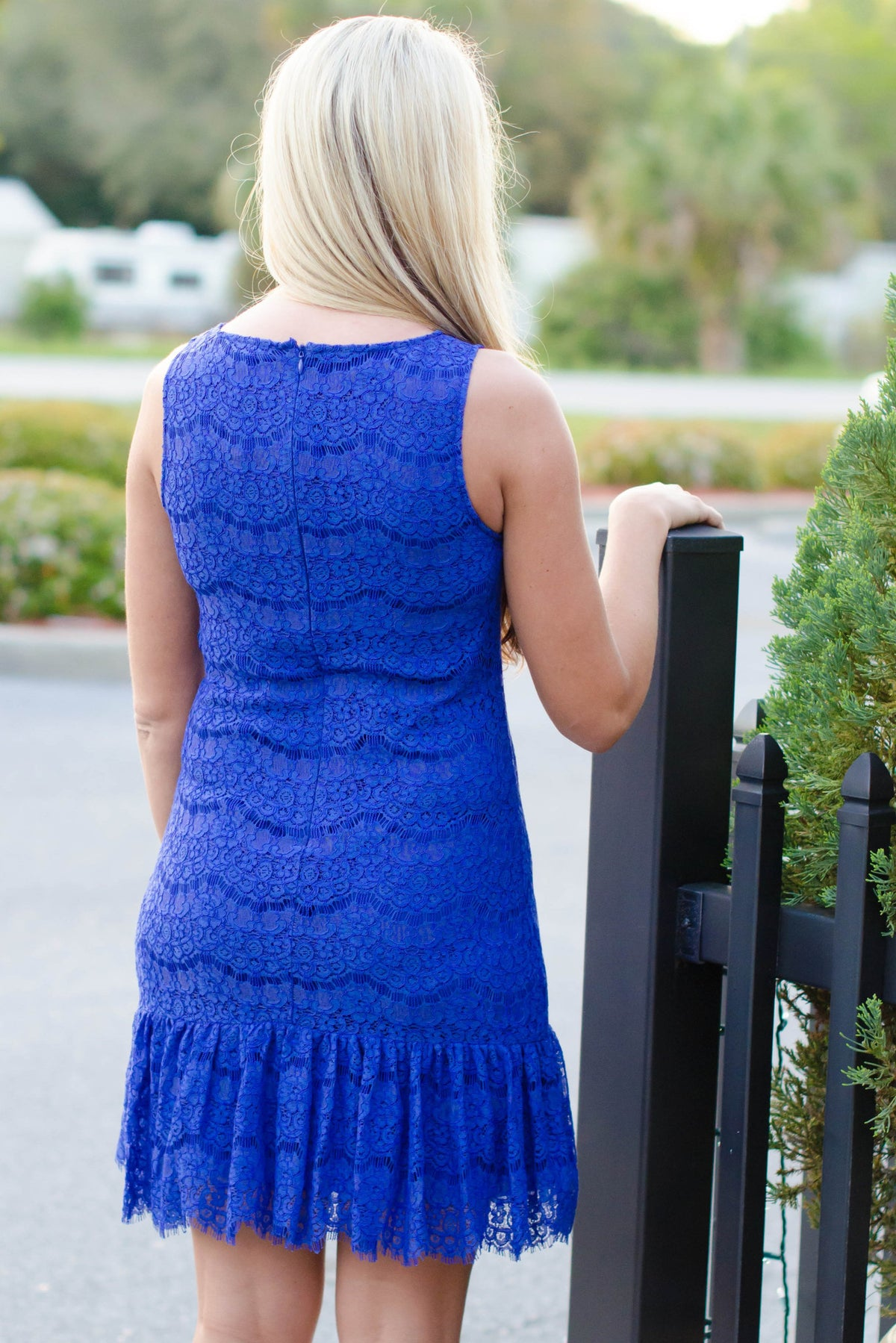 Darling: Isabel Dress, Blue