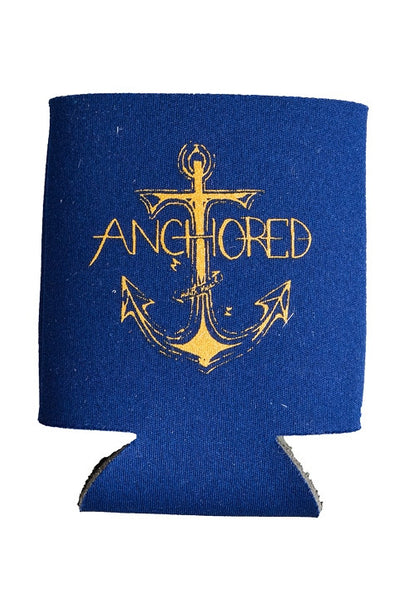 Judith March: Anchored Can Cooler, Navy