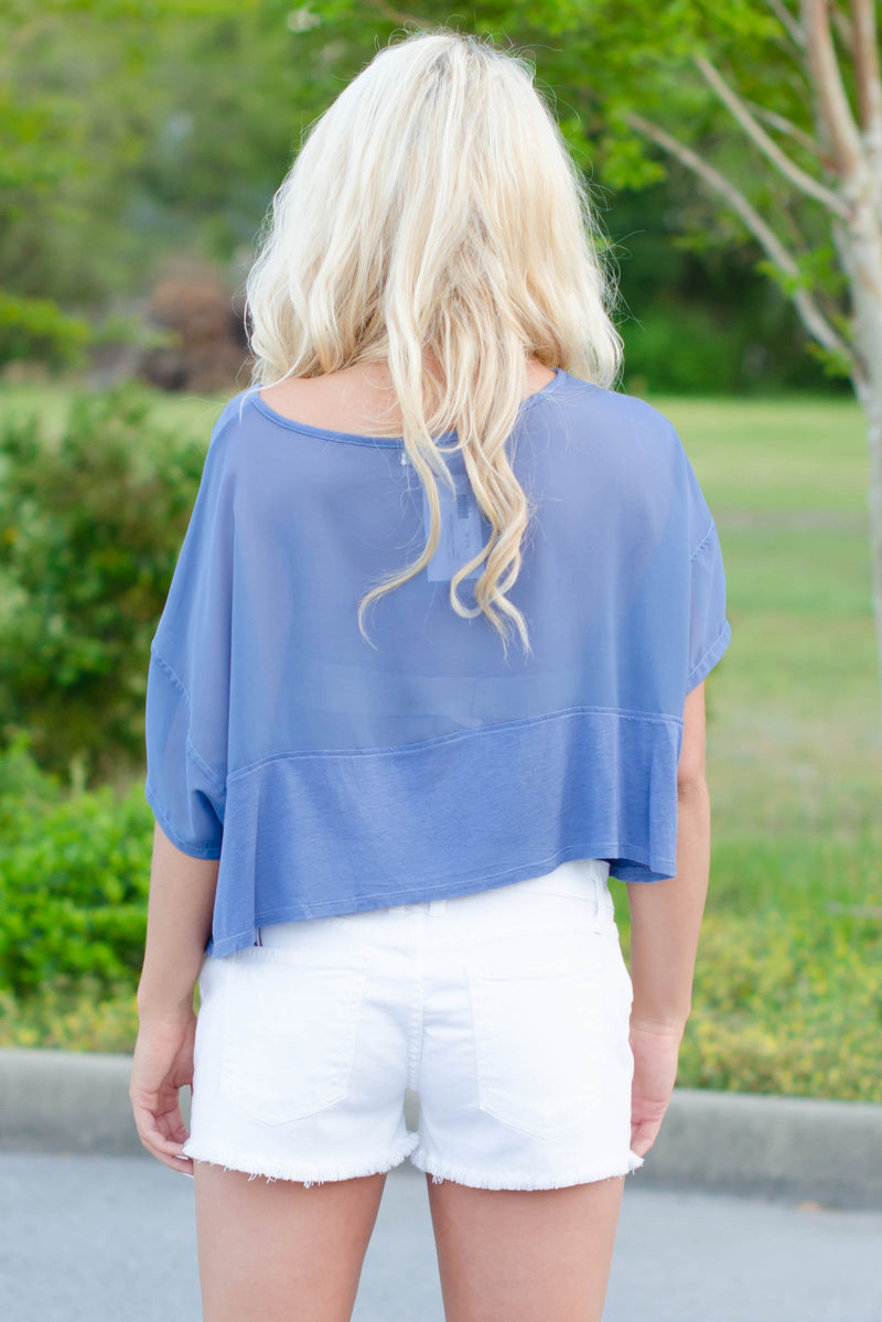 Andrea Top, Blue