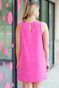 Courtney Dress, Pink
