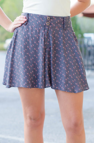 Free People: Marissa Shorts, Navy