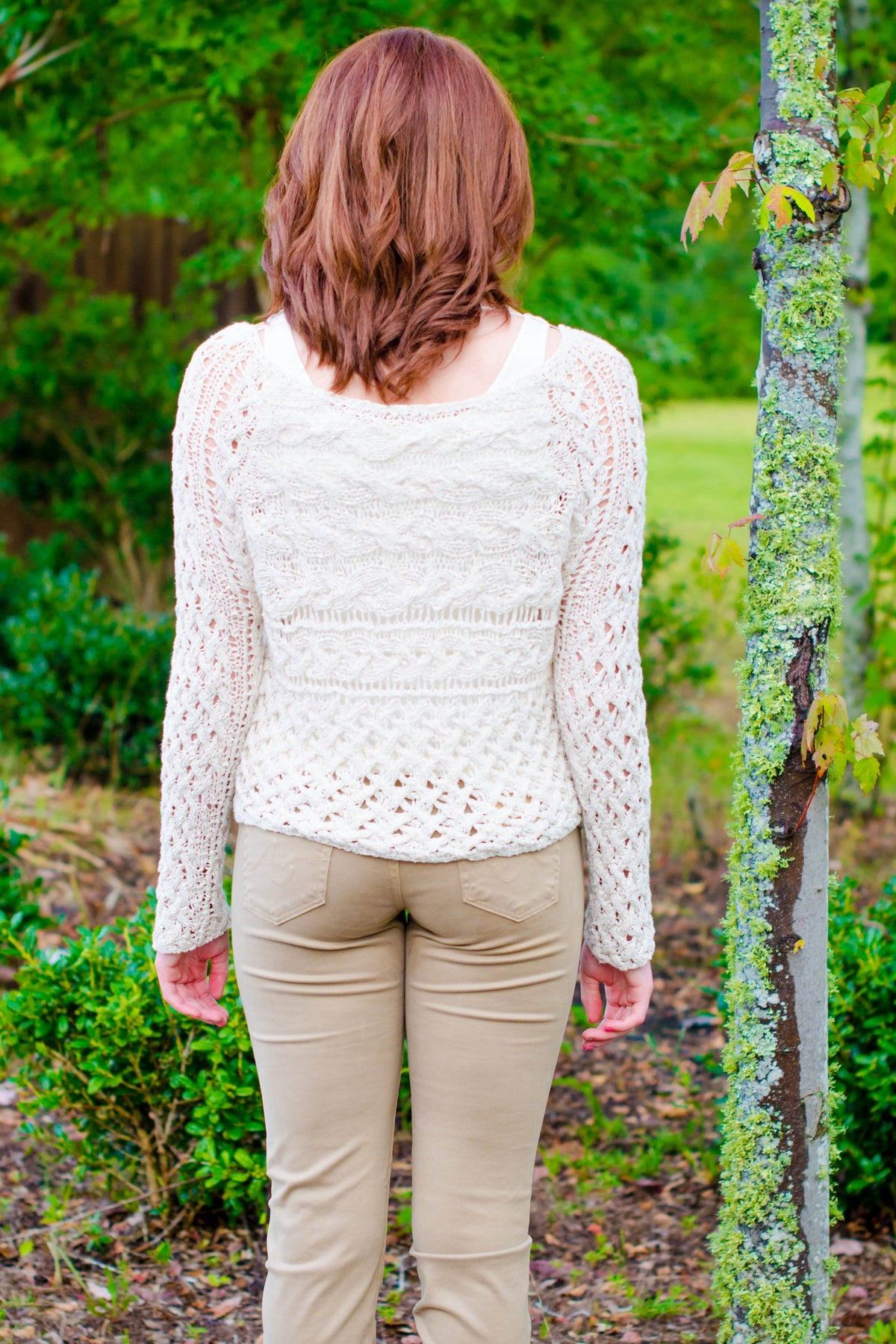 Free People: Holly Sweater, Ivory