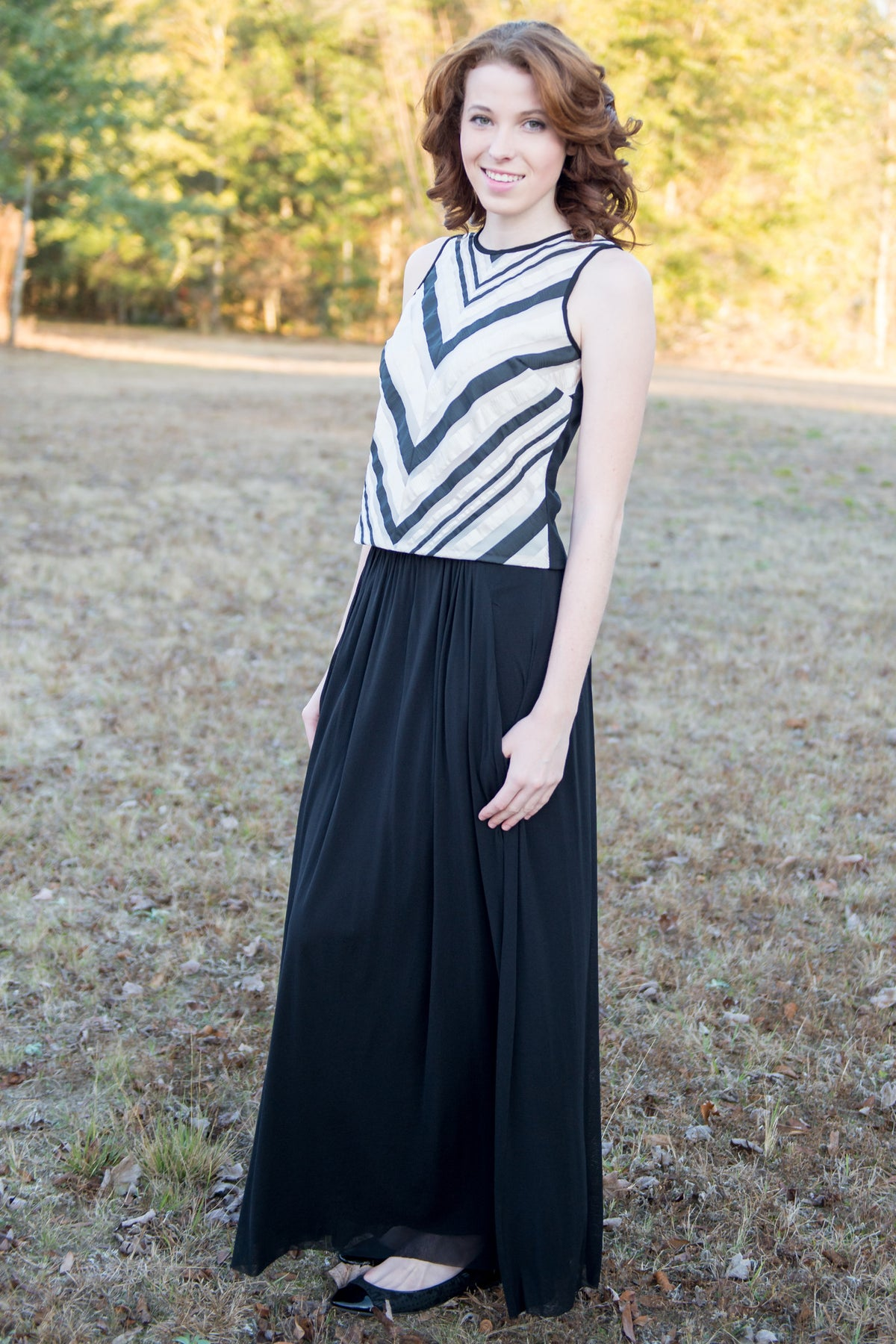 Weston: Jan Maxi Skirt, Black