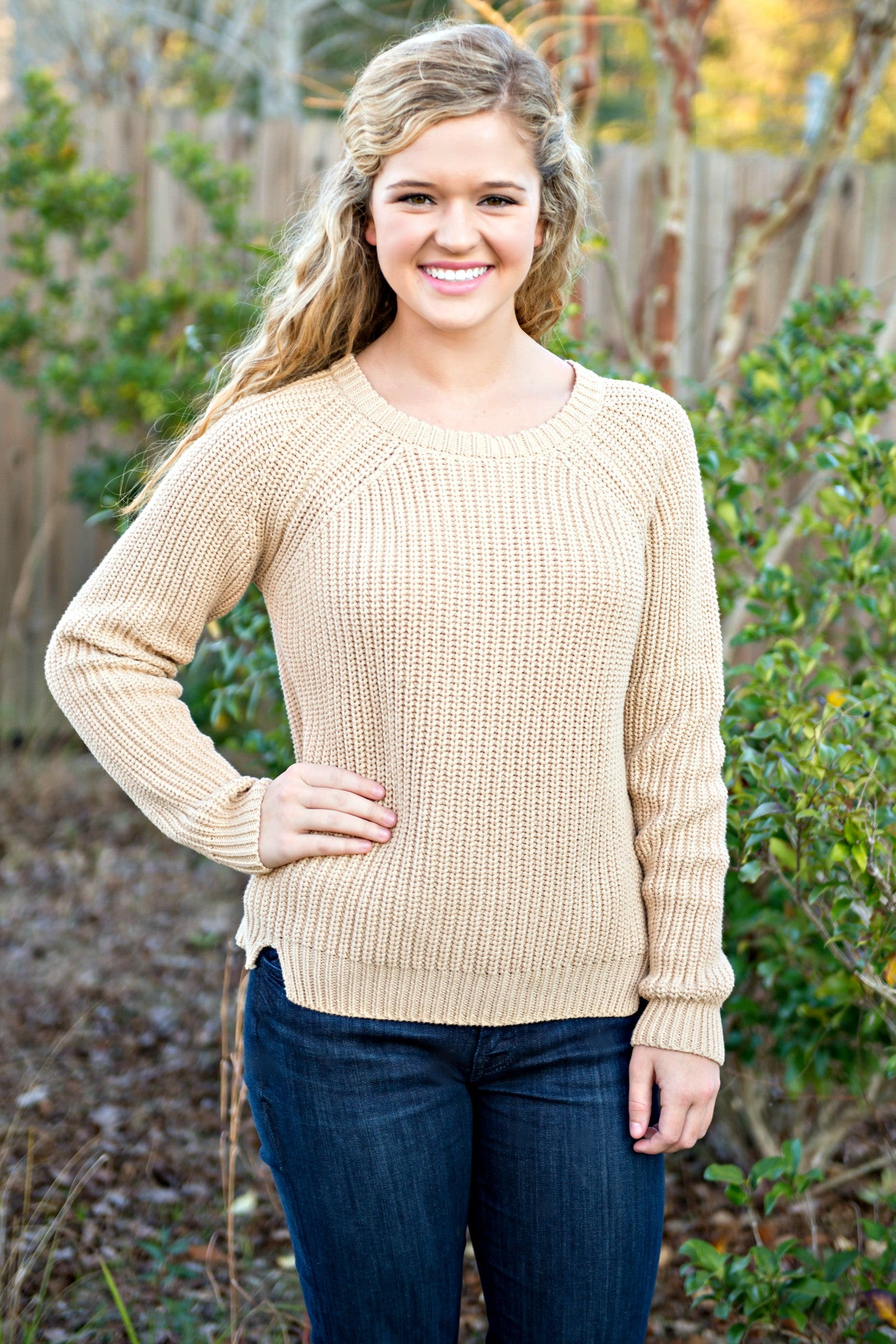 525 America: Lucy Sweater, Taupe
