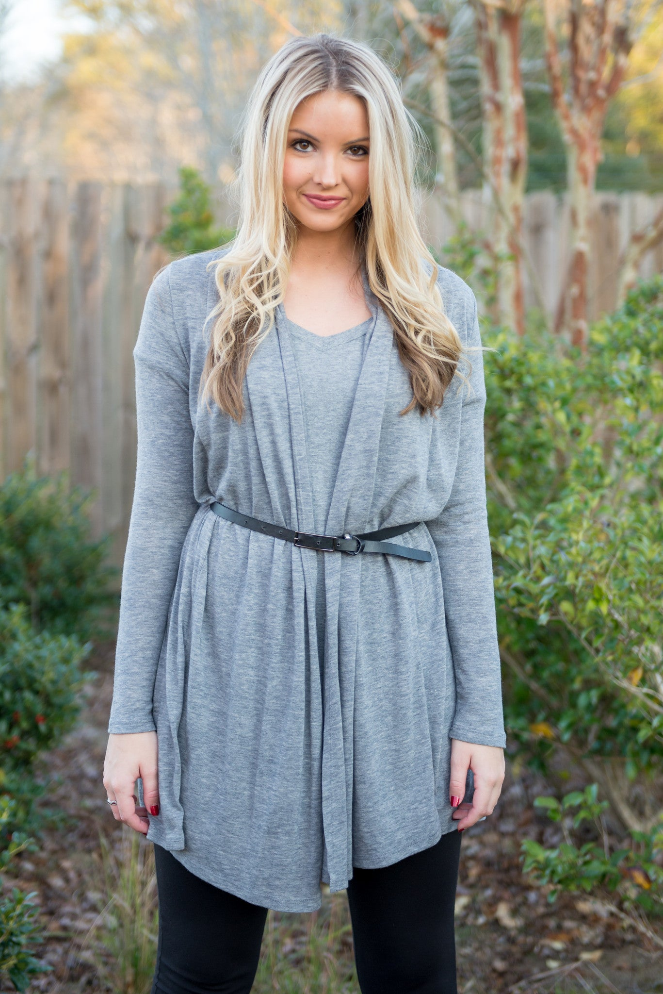 Kaleigh Cardigan, Gray