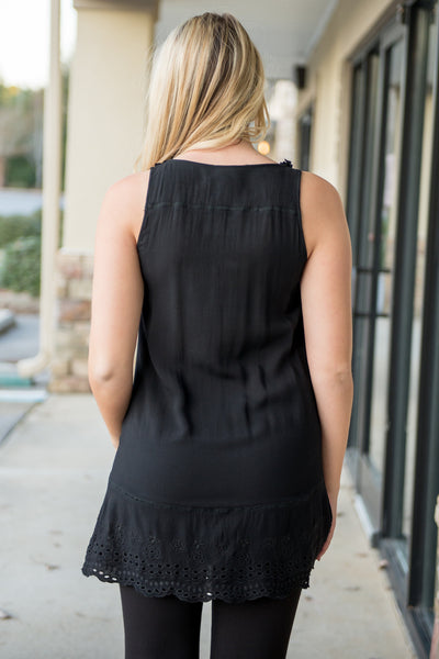Ivy Jane: Chrissy Tunic, Black