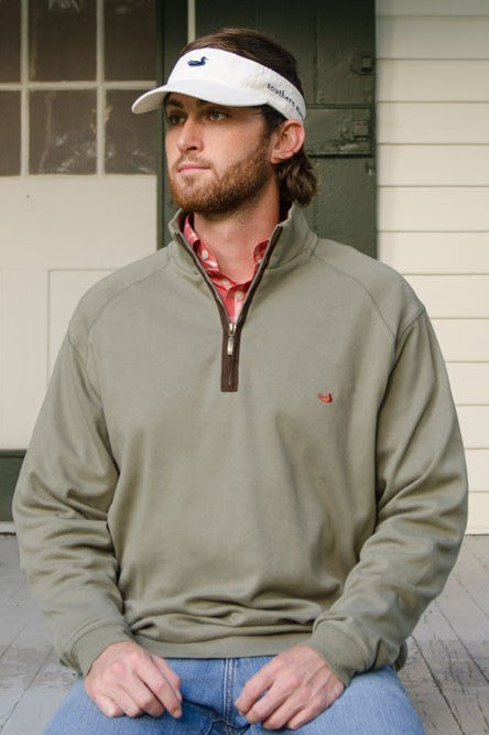Southern Marsh: DownpourDry Cotton Pullover, Washed Sandstone