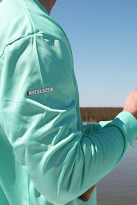 Southern Marsh: FieldTec Long Sleeve Performance Tee, Bimini Green