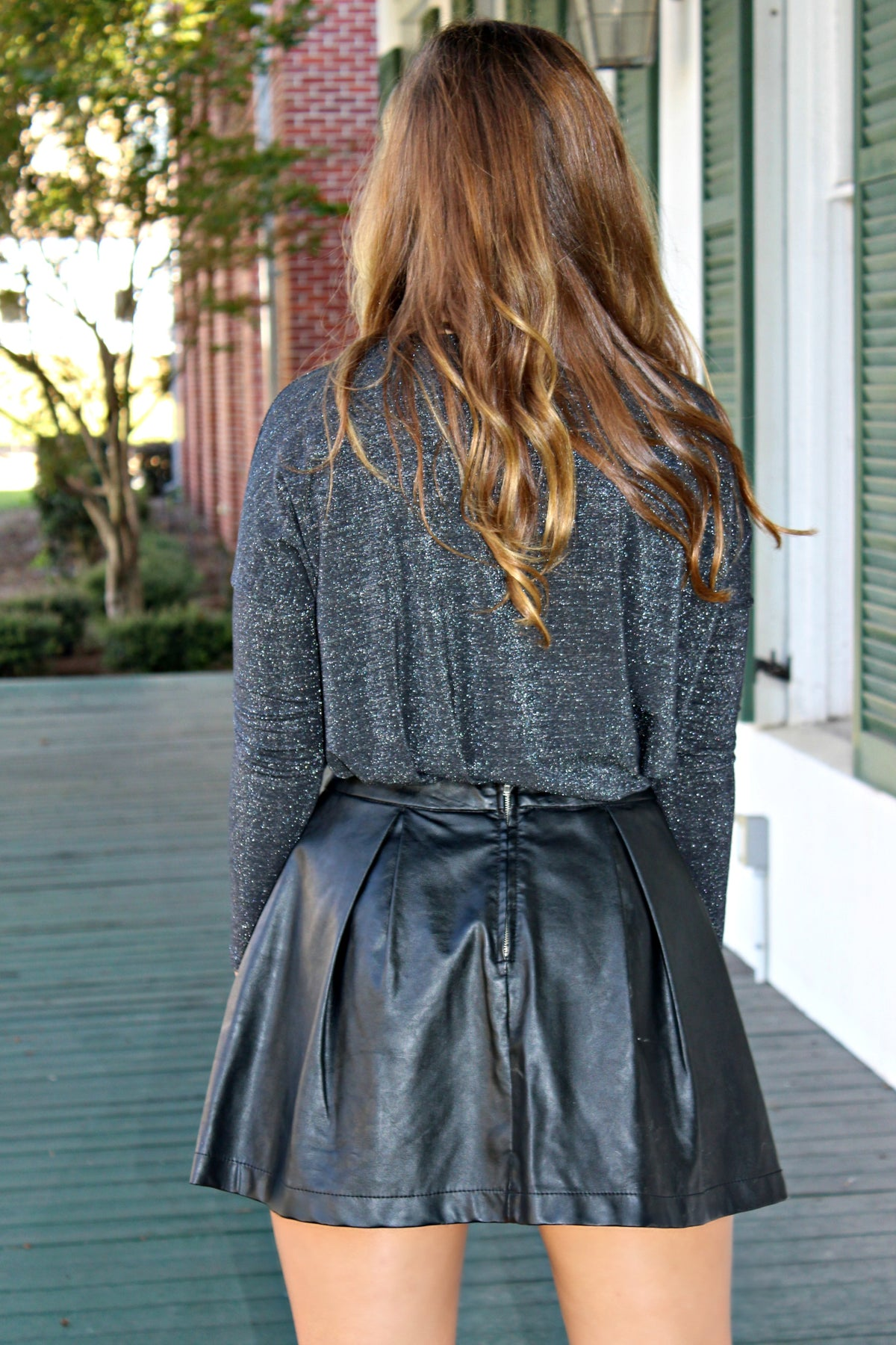 Clover Skirt, Black