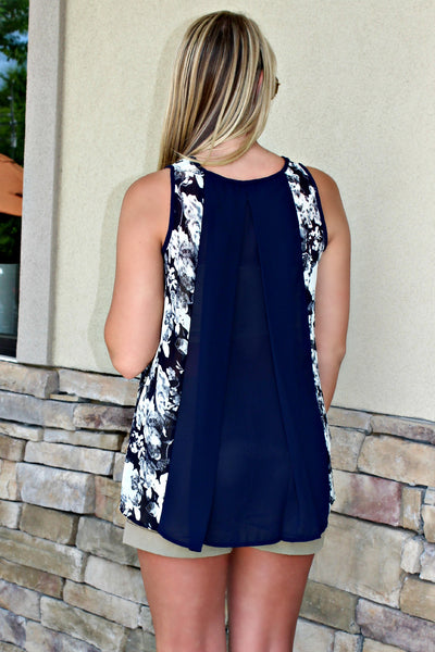 Hayley Top, Navy