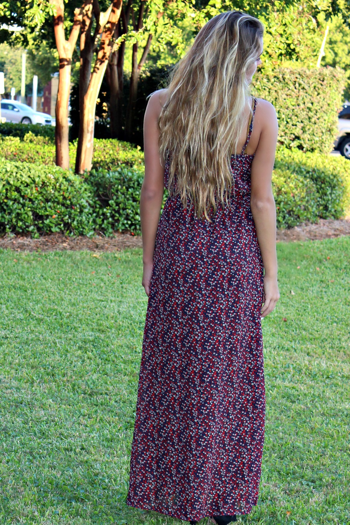 Give Me Romance Maxi Dress, Multi
