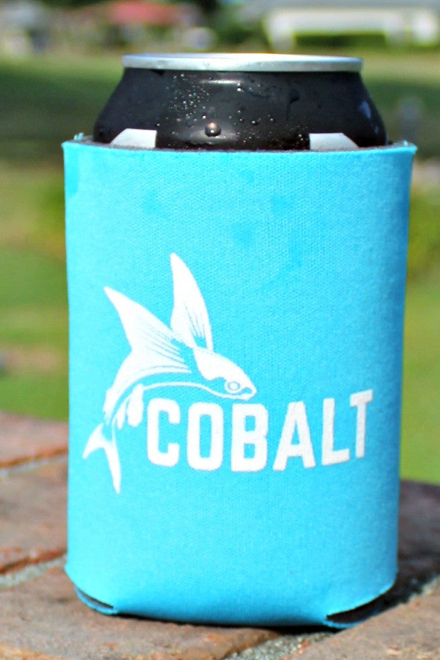 Cobalt: Can Cooler, Neon Blue