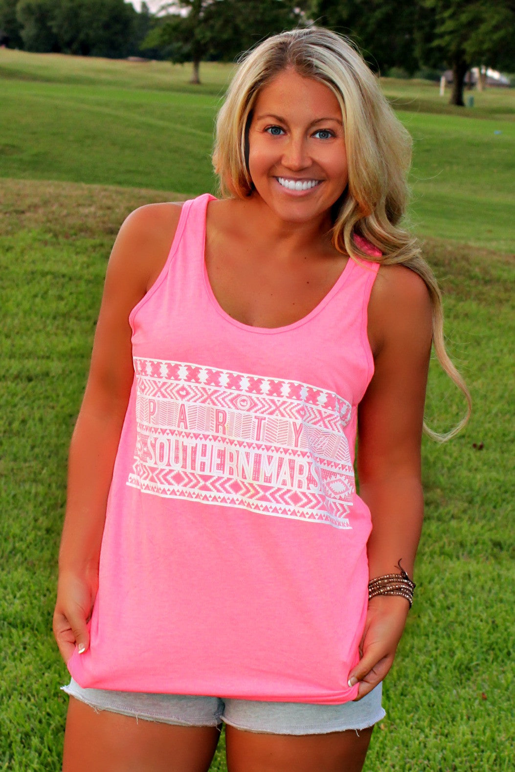 Southern Marsh: Party Tank, Pink