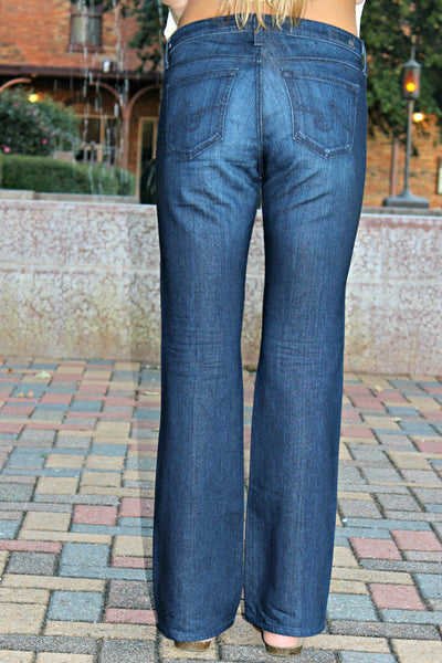 AG Jeans, Angelina Petite Boot Cut, Denim