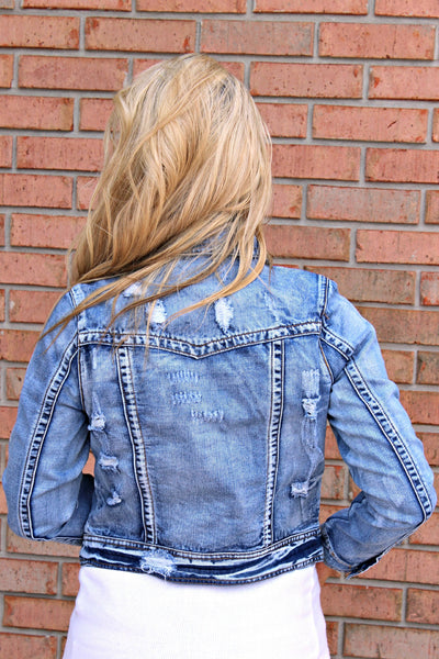 Ciggy Jacket, Denim