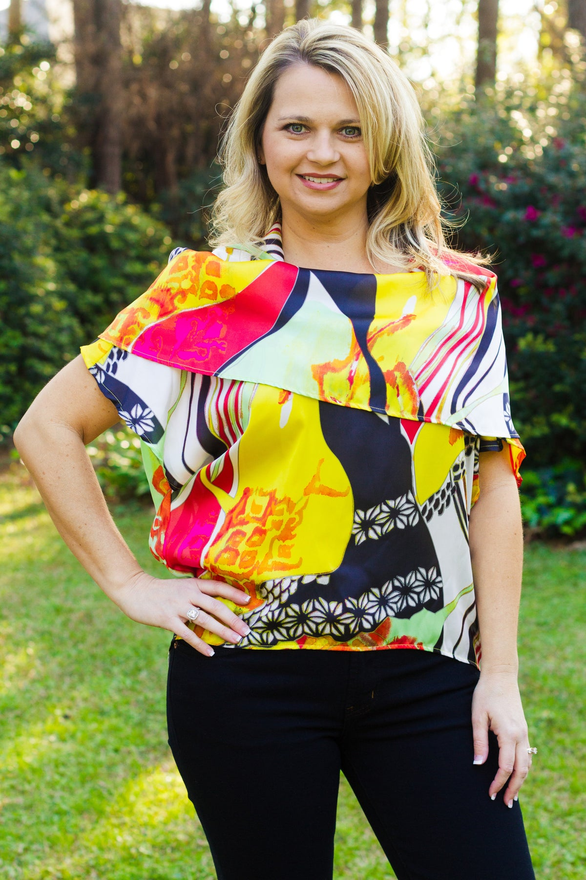 Ivy Jane Top - Yellow