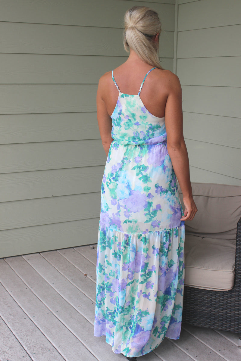 Everly: Abigail Maxi Dress, Purple