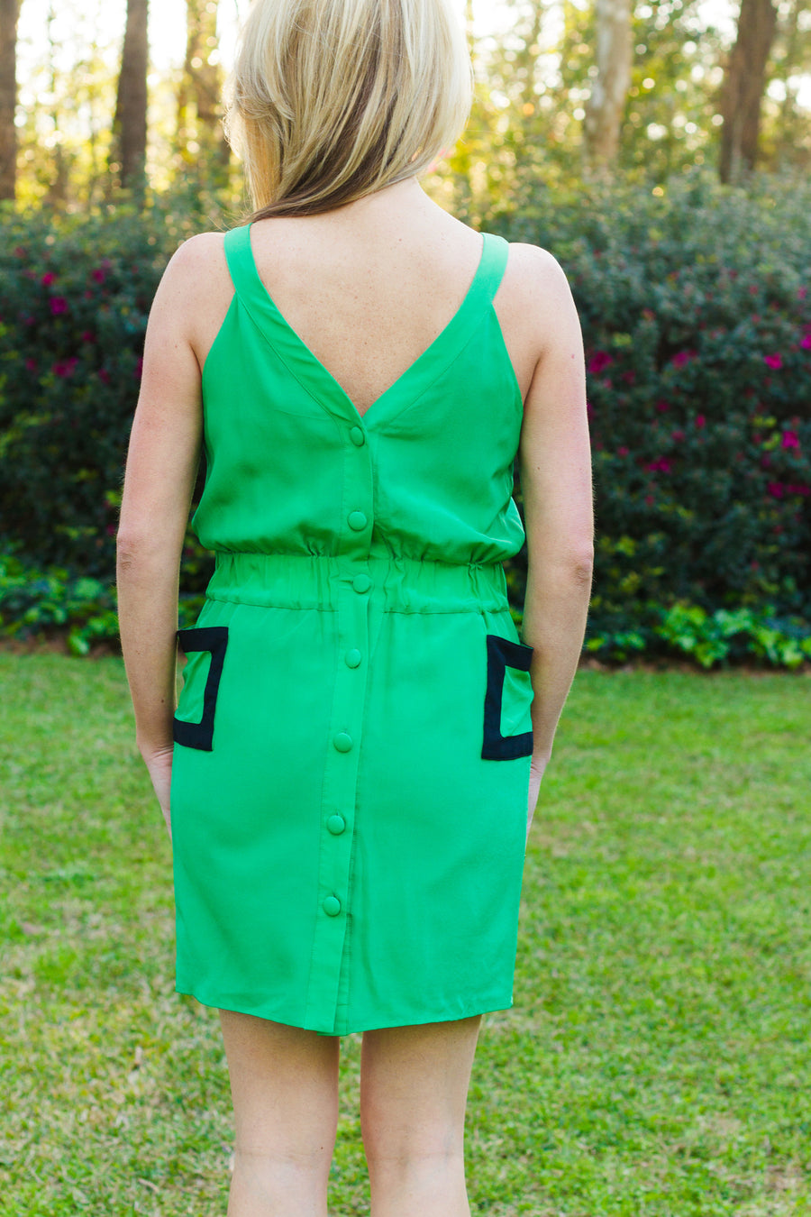 By Smith: Khloe Dress, Green